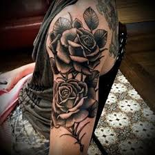 16 best black rose arm tattoos images on pinterest black roses