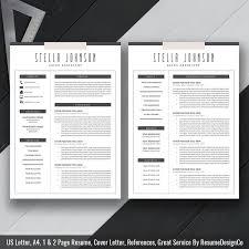 Cover Letter Resume Samples by 20 Best Resume Templates Images On Pinterest Job Career Resume