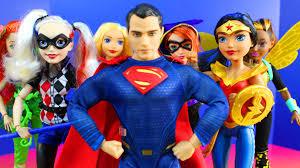 dc superhero girls doll superman supergirl batgirl