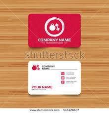 Fitness Business Card Template Business Card Template Texture Dumbbell Kettlebell Stock Vector