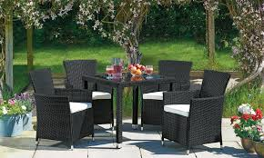 Outdoor Rattan Dining Chairs Santorini Rattan Dining Set From 259 99 In Garden Furniture