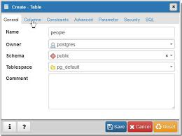sql create table primary key autoincrement create table in pgadmin 4 with autoincrement column dora s