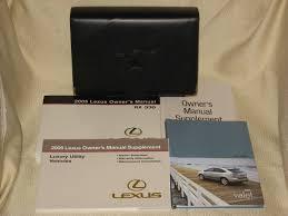 lexus is owners manual lexus owners manuals