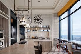 designbridge recently completed the interior architecture and
