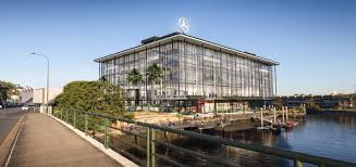 mercedes headquarters updated external finishes mercedes benz autohaus 194 breakfast
