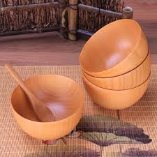 wood bowl health wood bowl instant noodles for kitchen salad soup rice baby