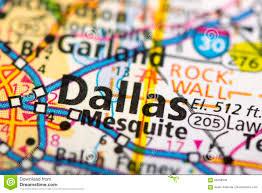 Dallas Tx Map Dallas Texas On Map Stock Photo Image 85558935