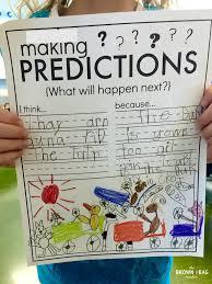 making predictions 1st grade read aloud the brown bag teacher