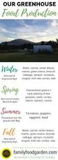 growing food year round in a greenhouse