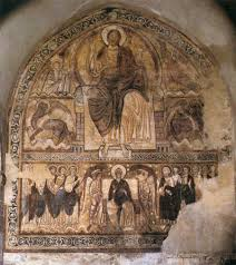 sacred sunday 11th century romanesque murals in france crash course unknown romanesque painter french active around 1220 christ in majesty circa 1220