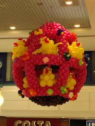 Easter Decorations In Ireland by Shopping Mall Decorating Worldwide Balloon Decor