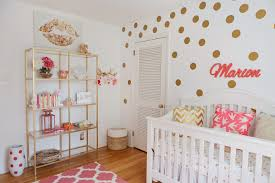 Gold And Coral Bedroom Running From The Law Mim U0027s Coral Gold U0026 White Nursery