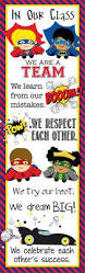super hero classroom decor xlarge banner in our class