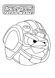 coloriage angry birds star wars 1 jpg dans angry birds star wars