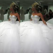 poofy wedding dresses 2016 bling bling big poofy wedding dresses custom made plus size