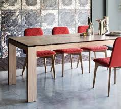 calligaris sigma glass lv 180 extending table design icons