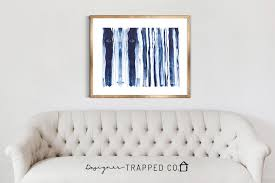 abstract wall navy blue brushstroke abstract wall designer trapped in a