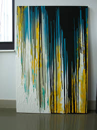 acrylic u0026 latex paint on canvas sold abstract multicolored 2