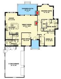 Two Bedroom Ranch House Plans Katrina Rambler House Plan Eric Likes This One A Lot But It