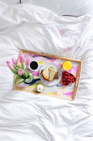 diy valentines breakfast in bed tray on brit co fish u0026 bull