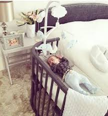 Cribs That Attach To Side Of Bed The Culla Belly Co Sleeper Attaches Onto Beds For Easy Access