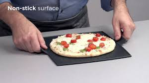 Pizza Stone For Toaster Oven Kuhn Rikon Silicone Toaster Oven Sheet English Youtube