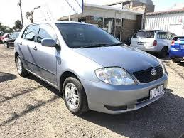 2002 toyota cars used 2002 toyota corolla ascent seca zze122r 5d hatchback for sale
