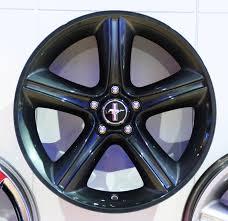Black Chrome Wheels Mustang 2010 Mustang Wheel Options Stangnet