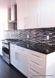 backsplash for black and white kitchen black and white kitchen morespoons 368a12a18d65