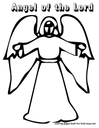 printable angel coloring pages coloring home
