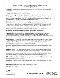 cover letter sample marketing job
