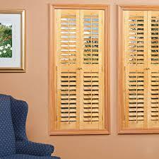 homebasics plantation faux wood white interior shutter price