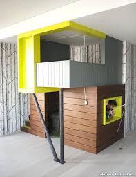 fabriquer une chambre fabriquer lit cabane maison a soi dans la chambre caw