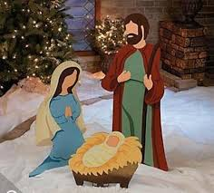 large nativity metal outdoor yard decorations new