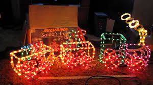 Christmas Rope Light Led by Sylvania Ropelight Christmas Train Animated Youtube