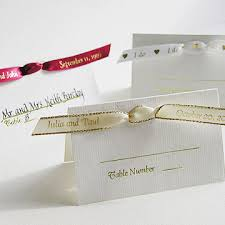 personalized ribbon for wedding favors personalized ribbon seating cards 25 pcs personalized ribbons