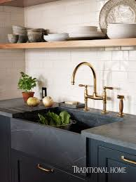 waterworks kitchen faucets an unlacquered brass faucet from waterworks and a soapstone sink