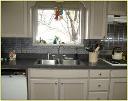 Metal Kitchen Backsplash Tiles Metal Kitchen Backsplash Home Design Ideas