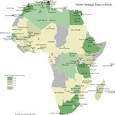 World Map Africa by File World Heritage Sites Africa Map Svg Wikimedia Commons