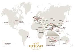 Emirates Route Map by Etihad Airways To Increase Presence In Africa With Launch Of New