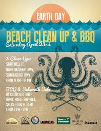 earth day beach cleanup u0026 bbq in san francisco at church of surf