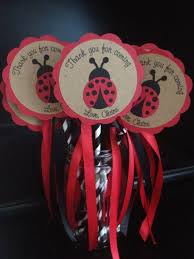 ladybug ribbon ladybug ribbon wand custom made with personalized by simpleandposh