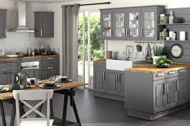 deco pour cuisine grise cuisine bois gris clair amusant deco pour cuisine grise idées