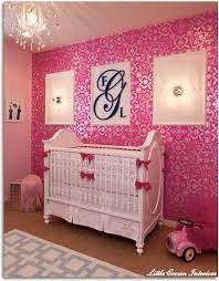 Baby Girl Bedroom Wallpaper  PierPointSpringscom - Baby girl bedroom ideas decorating