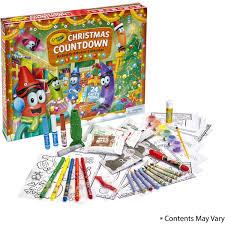 crayola christmas countdown activity advent calendar hobbycraft