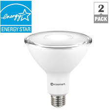 light bulb store houston ecosmart 90 watt equivalent par38 dimmable led flood light bulb