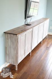 how to make storage cabinets easy living room storage cabinets diy danielle
