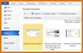 8 business card templates for word itinerary template sample
