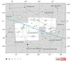 Map Of The Stars Los Angeles by Aquarius Constellation Facts Myth Star Map Major Stars