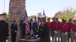 Military Funeral Flag Presentation Funeral Honors At Miramar National Cemetery Youtube